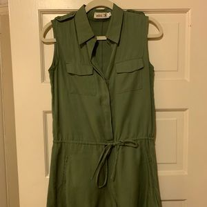 Romper in olive green XS